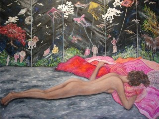 80x100cm Penelope.Oil on canvas. 2007-129